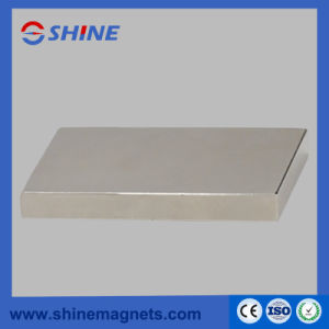 Nickle Plated Sintered Neodymium Block Magnet pictures & photos