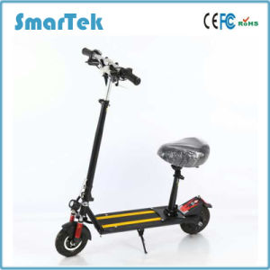 Smartek 350 W 8 Inch City Scooter Patinete Electrico Foldable Electric Scooters with Lithium Battery pictures & photos