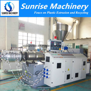 75-250mm Plastic PVC Pipe Production Line PVC Pipe Extrusion Line pictures & photos