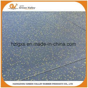 Shock Resistant EPDM Rubber Sheet Rubber Floor Tiles for Gym pictures & photos