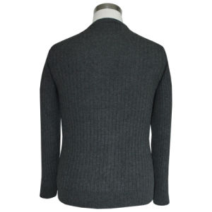 Bn 1611 Men′s Yak and Wool Blended Luxury Round Neck Knitted Pullover pictures & photos