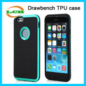 Shockproof Wiredrawing TPU and PC Armor Case for iPhone 7 pictures & photos