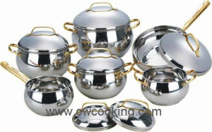 12PCS Stainless Steel Cookware Set-Classic Item pictures & photos