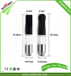 Wholesale E Cigarette Atomizer Device 0.5ml Wickless Vaporizer Cartridge 510 Thread pictures & photos