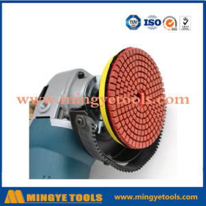 4 Inch Diamond Polishing Abrasive Pads for Granite and Marble pictures & photos