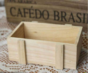 Multi-Funtion Natural Wood Storage Box pictures & photos
