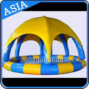 Custom Inflatable Adult Swimming Pool with Cover; Inflatable Water Pool pictures & photos