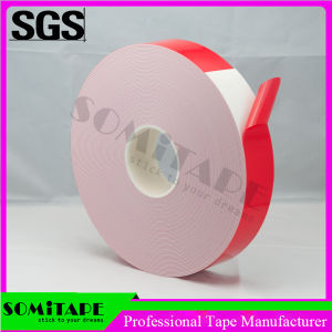 Somitape Sh333b05 PE Pressure-Sensitive Black Double Face Foam Tape pictures & photos
