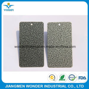 Hammer Texture Silver Powder Coating Paint pictures & photos