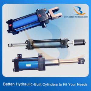 Double Acting Type Tie Rod Cylinders Hydraulic Cylinders pictures & photos