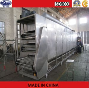 Soybean Meal Fresh Mycelia Mesh Belt Drying Machine pictures & photos