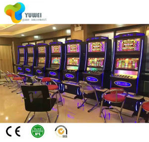 Slot Machine Metal Electronic Coin Cabinet Manufacturer Sales Yw pictures & photos