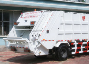 HOWO Brand Garbage Truck with 16m3 Box pictures & photos