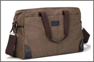 New Arrival Casual Men′s Canvas Messenger Bag pictures & photos