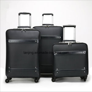 Canvas Trolley Travel Luggage, Softside Laptop Trolley Bag pictures & photos
