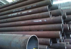 159*5 Round Steel Pipe Tube for Gas Cylinder pictures & photos