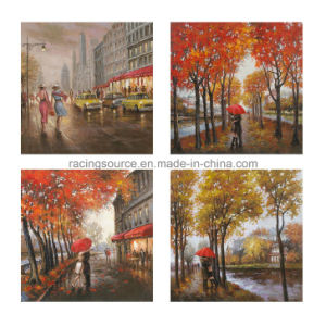 Landscape Handmade Oil Canvas Painting Wall Art Printing Canvas pictures & photos