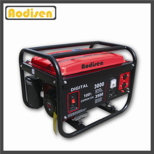 2.5kw 3kw 5kw Portable Gasoline Engine Generator (Set) pictures & photos