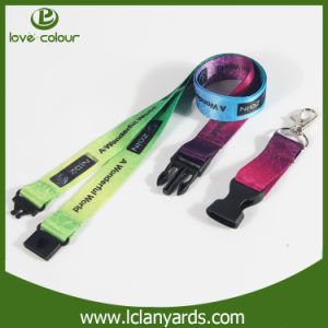 Custom Printed Strap Fashion Polyester Neck Lanyard OEM Manufacturer pictures & photos