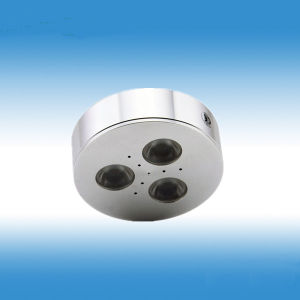 3W Dimmable Round LED Cabinet Light with Lens pictures & photos