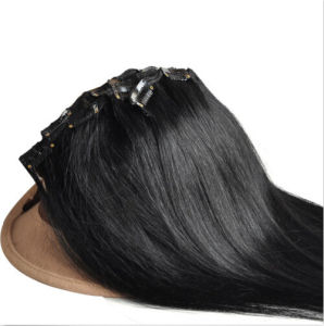 Brazilian Remy Clip in Human Hair Extensions pictures & photos