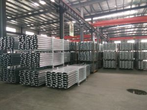 Scaffolding Galvanized Steel Plank pictures & photos