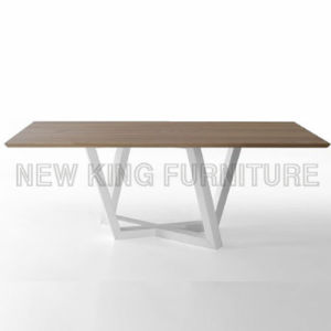Cheap Sale Wood Dining Table and Chair for Home (NK-DTB081) pictures & photos