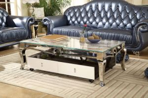 Functional Family Use Antique Marble Coffee Table pictures & photos