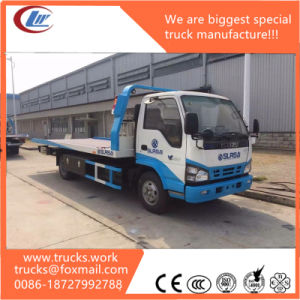 China Clw Isuzu Chassis 5ton Towing Truck Wrecker pictures & photos