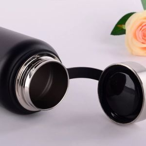 Wide Mouth Stainless Steel Vacuum Flask Lid with Finger Holder (SH-ST23) pictures & photos