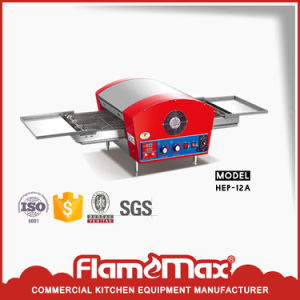 Red Electric Conveyor Pizza Oven Made in China for Pizza Shop pictures & photos