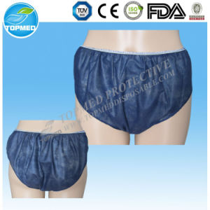 Hot Disposable Underwear for Spas, Men′s and Ladies Disposable Underwear, Nonwoven Disposable Underwear pictures & photos