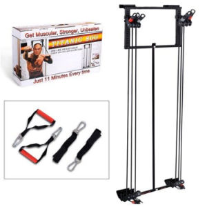 Easy Used Cheap Portable Foldable Home Gym Door Fitness Equipment Tower Workout pictures & photos