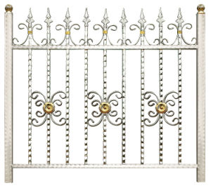 Outdoor Villa Security Fence Welding Steel Fence pictures & photos