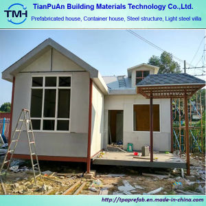 Prefab Homes Light Steel Frame Structure House Light Steel Prefab Villa pictures & photos