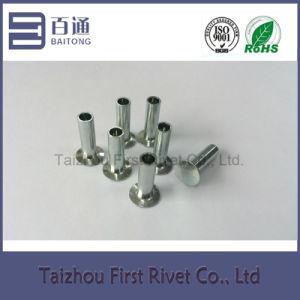 8-10 Blue Zinc Plated Flat Countersunk Head Semi Tubular Steel Brake Lining Rivet pictures & photos