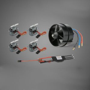 1061020-64mm Edf 4100kv Motor & 4PCS 9g Servo & 40A Brushless ESC Power Combo Set for Fixed-Wing of Wingspan RC Airplane pictures & photos