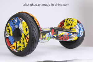 2017 Two Wheels Zebra Cross-Country Hoverboard Electric Skateboard bluetooth Musical Self Balancing Scooter pictures & photos