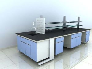High Quality Wood and Steel Laboratory Furniture (JH-WF015) pictures & photos
