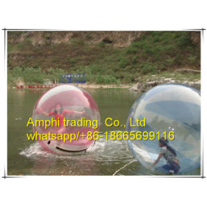 Popular Floating Human Sphere Inflatable Swimming Pool Water Ball for Aldult pictures & photos