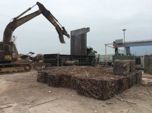 Y81K-800 Scrap Metal Baling Machine pictures & photos