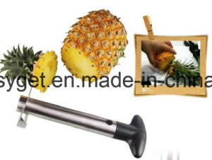 Stainless Steel Pineapple Peeler, Pineapple Corer, Pineapple Slicer - All in One Kitchen Gadget Esg10153 pictures & photos