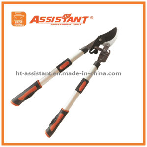 Easy Cut Ratcheting Extendable Bypass Lopper Ratchet Lopper pictures & photos