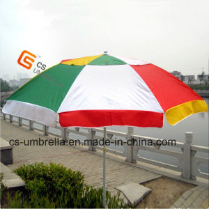 """48"""" Durable Windproof Double Layer Beach Umbrella (YS-BU005A) pictures & photos"""