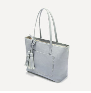 Large-Capacity Tote Bag Simple PU Leather Women Handbags pictures & photos