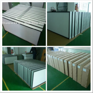 H13 Extruded Anodised Aluminum HEPA or ULPA Air Filters pictures & photos