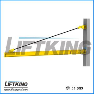 Wholesale High Quality 250kg Wall Mounted Slewing Jib Crane pictures & photos