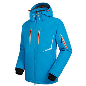 Men Outdoorwear Winter Ski Jacket with Reflective Printing pictures & photos
