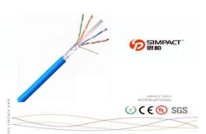 Frame Resistant FTP CAT6 LAN Cable pictures & photos