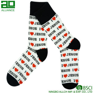 Kitty Cat Lovely Wholesale Cotton Knitted Men Socks pictures & photos